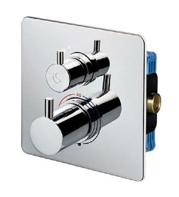 Ideal Standard Easybox Slim thermostatic shower mixer valve A6374AA